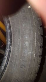 4 x winter tyres for sale