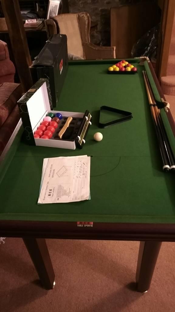 BCE Pool Table