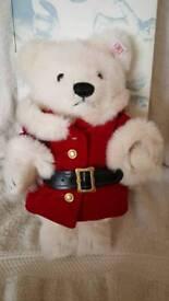 Limited Edition Steiff Christmas 2008 Bear