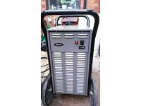 industrial dehumidifier (woods 40 ltr pump-out) see photos VGWO power-full drying power easy mover