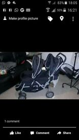 saftey first double buggy