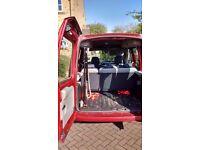 Renault Kangoo 2007 35,000 miles Red car Wheelchair hoist Great condition