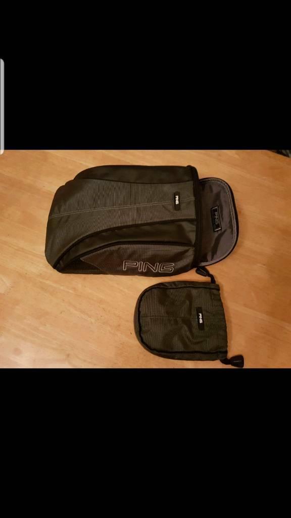 Ping Golf Deluxe shoe bag  386b7ba4ba0e8