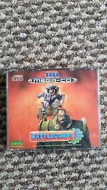 sega mega cd battlecorps game with instructions