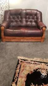 2 seater and chair sofa