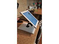 i360 iPad stand (x 2 available, white)