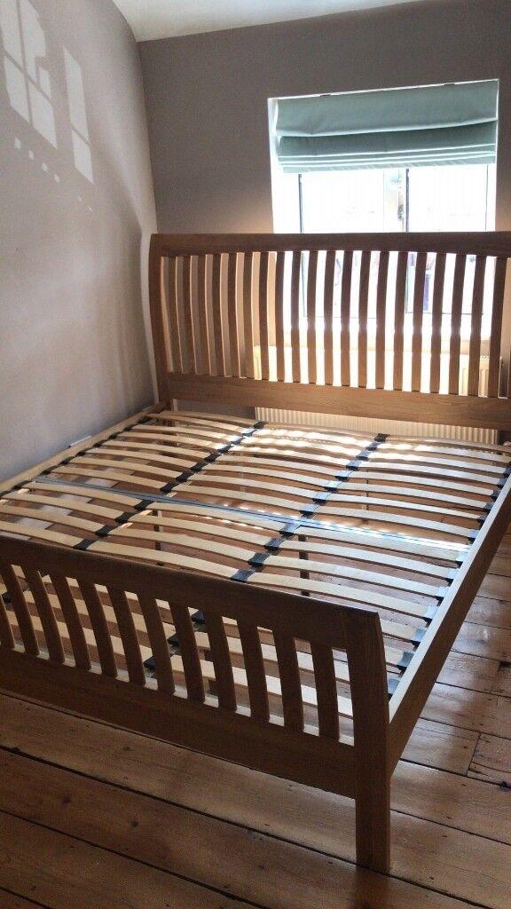 Oak Super King Bed 200 In Clapham London Gumtree
