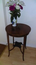 Edwardian, mahogany ,circular occasional table