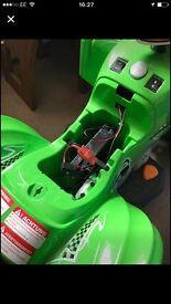 Child's electrical quad bike