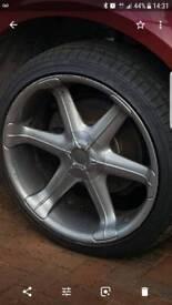 BMW 22 inch alloys
