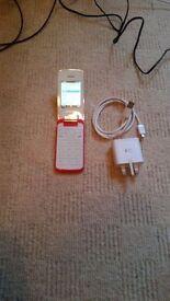 Alcatel 2010G Pink White (Unlocked ) Mobile Phone