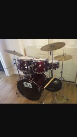 Immaculate condition CB Drum kit