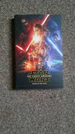 Star Wars The Force Awakens. Book Of the film