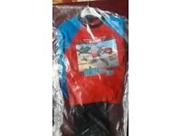 PLANES CHILDREN PYJAMA AGE 5-6 %100 COTTON FOR £4 TWO FOR £7. NEW WITH TAG.