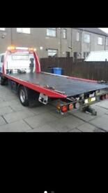 24/7 vehicle recovery service van car bike delivery scrap in east London tow truck towing jump start