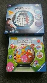 2 Puzzle Balls, Doctor Who and Moshi Monsters
