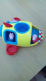 PEPPA PIG SPACESHIP WITH WEEBLES