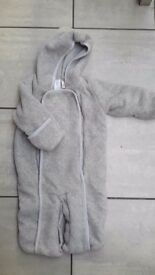 Gap baby snowsuit / pramsuit 3-6 months