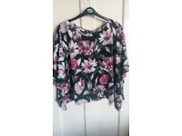 BRAND NEW WITH TAGS. Ladies tops- Yours/ F&F, size 16