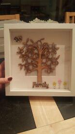 HANDMADE FAMILY TREE FRAME