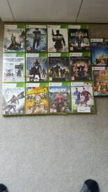 Selection of Xbox 360 games in working order