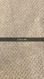 Brand new carpet roll end 2.7m x 4m