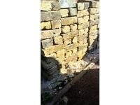 Reclaimed London Yellow Bricks Second Hand. Pack of 100