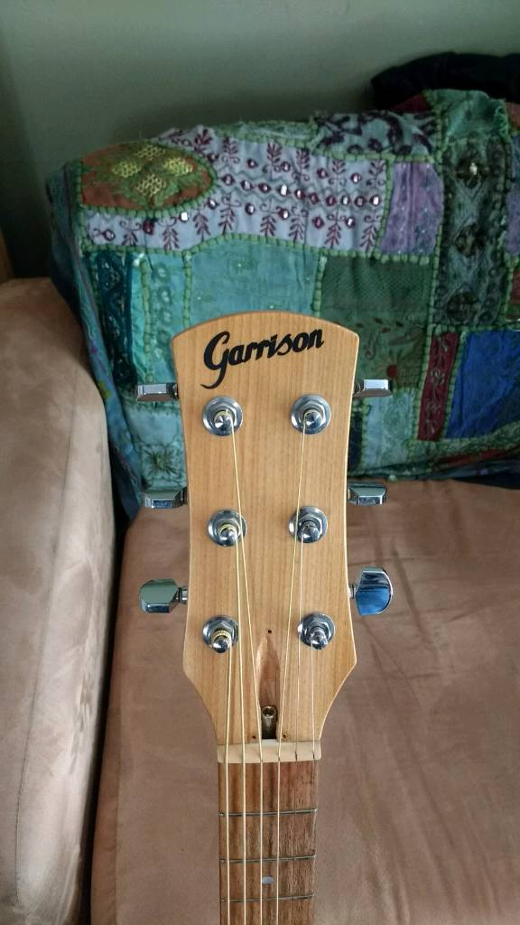 RARE. Garrison Electro-Acoustic GUitar. Great condition. Made in Canada