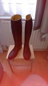 Mens stylos riding boots