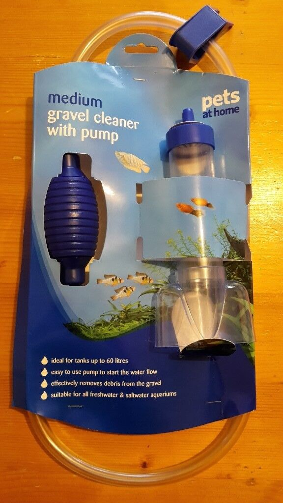 Pets at Home Medium Gravel Cleaner with pump (new and unused)