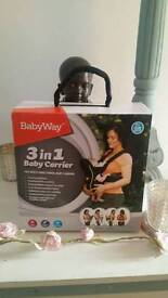 babyway 3in1 baby carrier