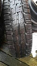 4 tyres 185/75/R16