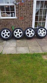 Mercedes ml w164 alloy wheels and pirelli tyres