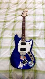 Fender- squire mustang (blue)