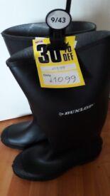 brand new wellington boots size 9