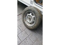 .Spare Wheel for Caravan or Trailer