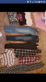 Bundle girls clothes 10-11