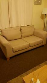 2 and 3 seater DFS sofa