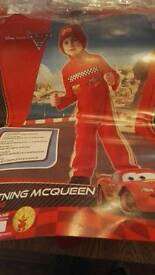 Lightening Mcqueen costume 3_4 years
