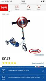 Captain America scooter