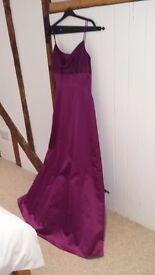 Burgundy Red Prom/Ball Dress
