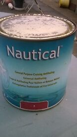antifoul 2.5 litres (red)