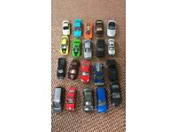 X20 Toy Cars. (Matchbox etc)