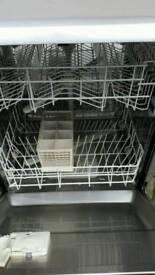 Beko silver full size dishwasher for sale