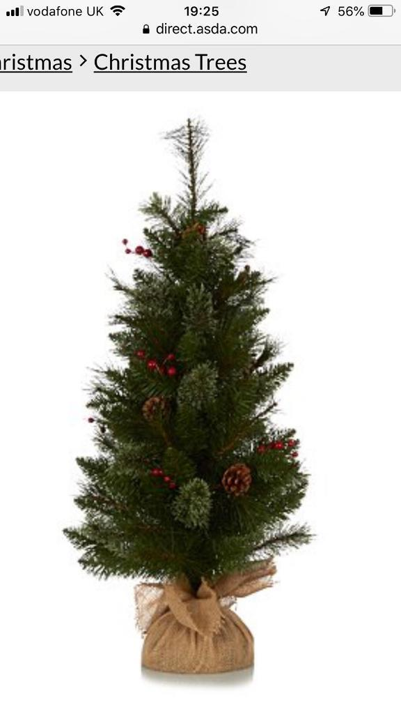 3ft Come And Berry Xmas Tree