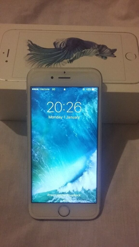 iphone 6s 16gb ANY NETWORK silver with box and all accessories originalin Small Heath, West MidlandsGumtree - iphone 6s 16gb unock silver with all accessories original its all working fine with tempered glass