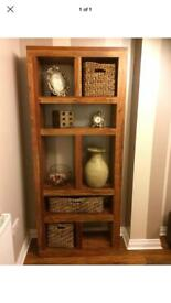 Oak Wood Bookcase ( Java Range )
