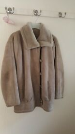 Genuine sheepskin Vintage jacket (from Marks and Spencer) in very good condition size 10 -12