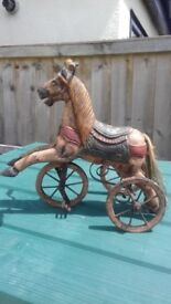 Horse Tricycle/Paul Cardew Cool Cat Collection