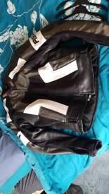 Motorcycle jacket leather